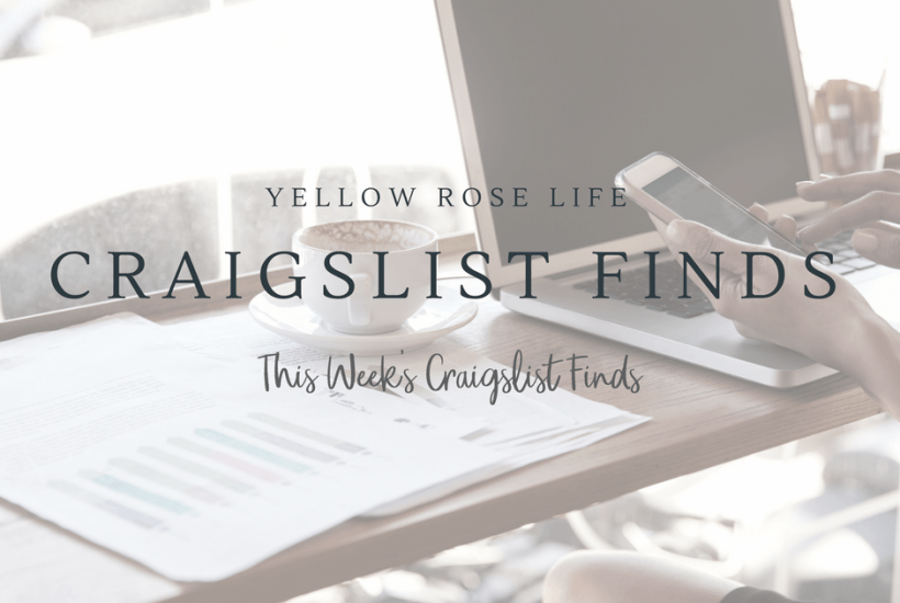 Yellow Rose Life Craigslist Finds