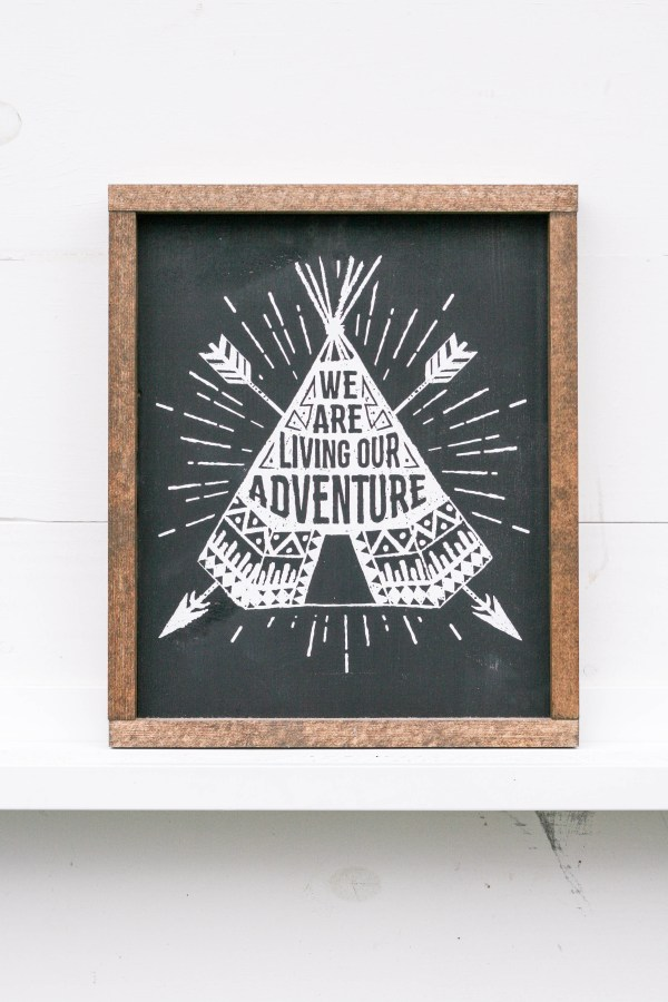 We Are Living Our Adventure
