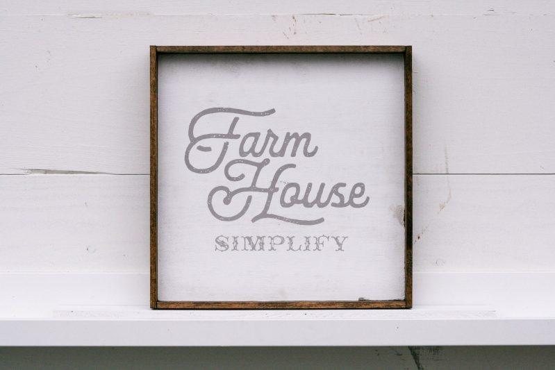 Farmhouse Simplify