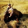 Tom Pinkerton and his 2015 Bison.
