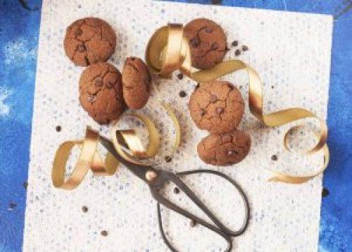 Healthy Double Chocolate Chip Ragi Cookies