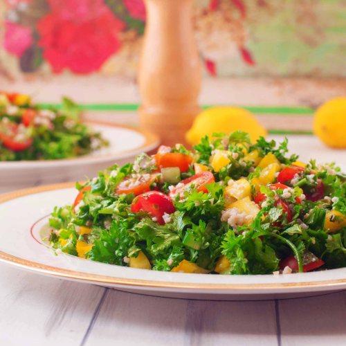 Indianised Lebanese Tabouleh Salad