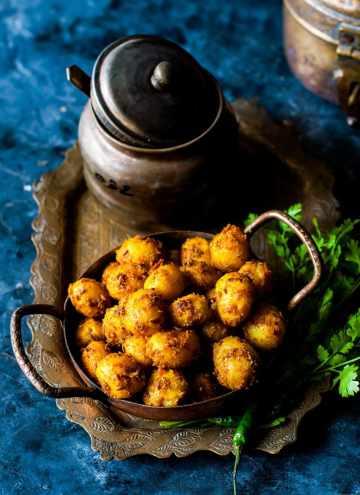 Instant Pot Roasted Potatoes with Cumin-Indian Jeera Aloo