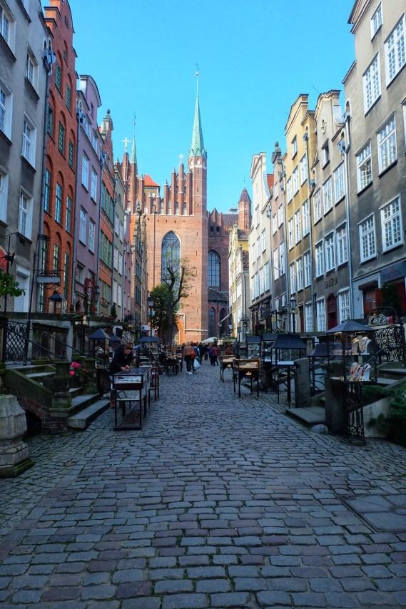 Mariacka Street Gdansk Poland