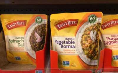 Vegetable Korma and Farro