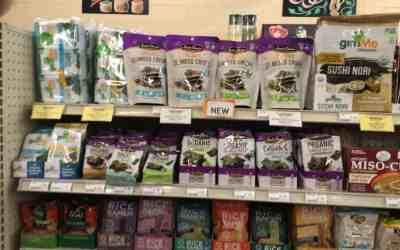 Amy's Organic Seaweed Crisps