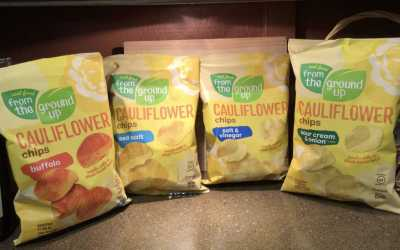From the Ground Up Cauliflower Chips