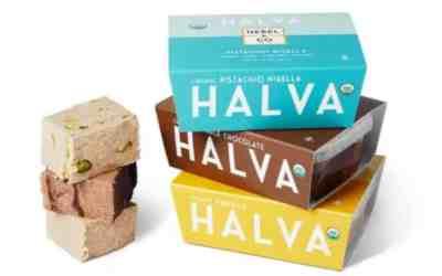 Organic Sesame Halva, Pistachio, Chocolate & Vanilla