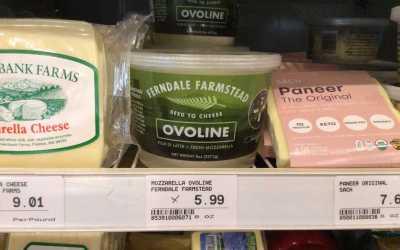 Fresh Ferndale Farmstead Ovoline Mozzarella