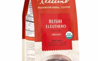 Reishi Eleuthero French Roast Mushroom Herbal Coffee