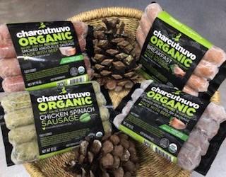 CharcutNuvo Grass-Fed Organic Beef, Pork & Chicken Sausages
