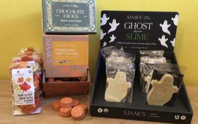 Organic Halloween Sjaak's and Lake Champlain Chocolates