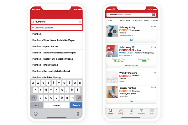 How to do a search on Yelp for Claiming Your Yelp Page