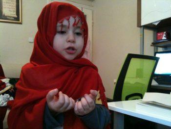 Çocuklarımız için yemek duası