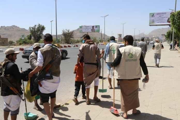 أنعام اليمن للتنمية تنفذ حملة نظافة في عدد من شوارع أمانة العاصمة2