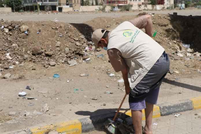 أنعام اليمن للتنمية تنفذ حملة نظافة في عدد من شوارع أمانة العاصمة5