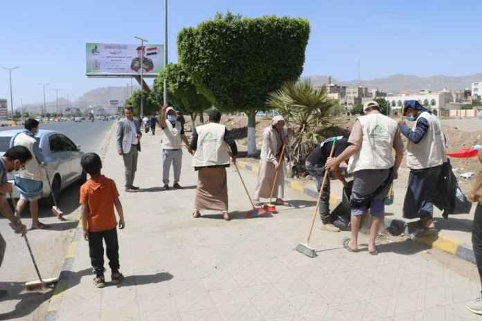 أنعام اليمن للتنمية تنفذ حملة نظافة في عدد من شوارع أمانة العاصمة7
