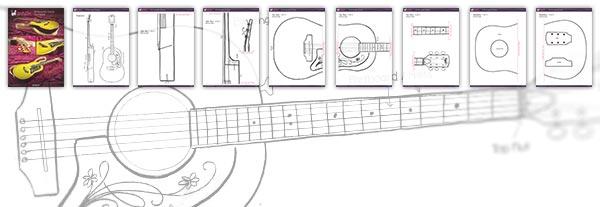 How To Make A Guitar Cake By Yeners Way Cake Art Tutorials