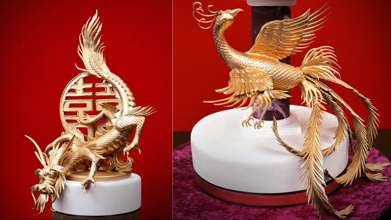 Dragon And Phoenix Cake Yeners Way
