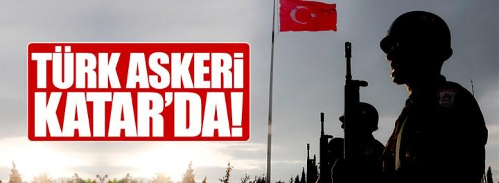 Türk Askeri Katar'da !