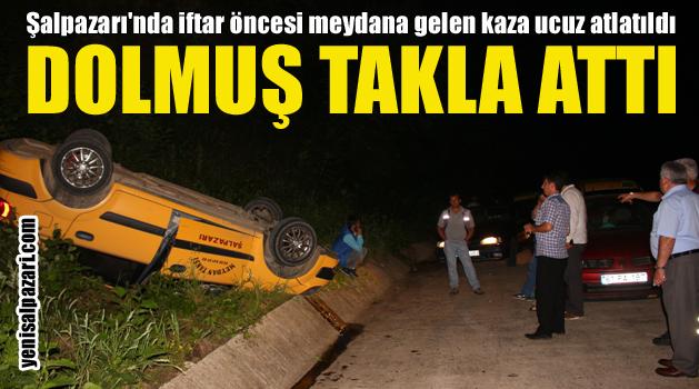 taksi kaza