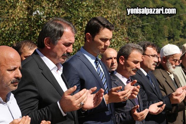 Sugören'deki cenazeye Kaymakam Vekili Murat Acar da katıldı