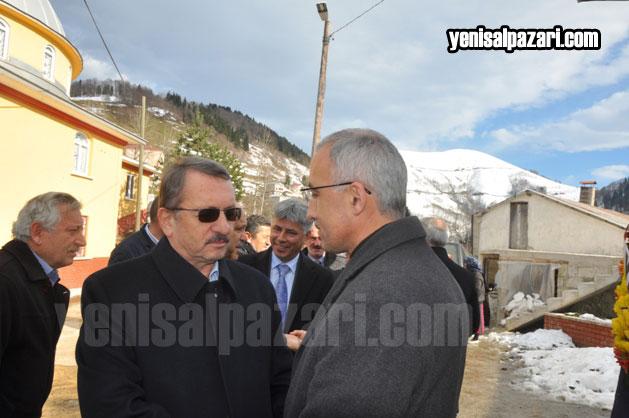 Çaykur Genel Müdürü İmdat Sütlüoğlu Rektör Karaman'ı acılı gününde yalnız bırakmadı