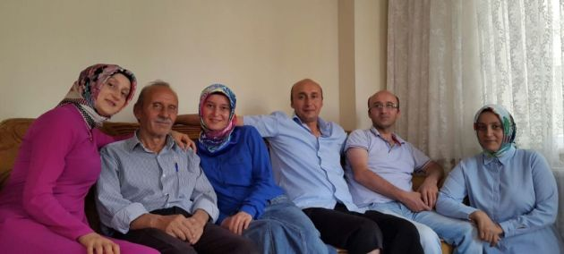 salih muhcu ailesi