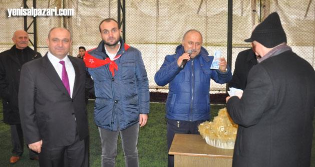 Türkiye Şehit Aileleri Derneği Genel Başkanı Mehmet Güner de oğlunu askere uğurladı