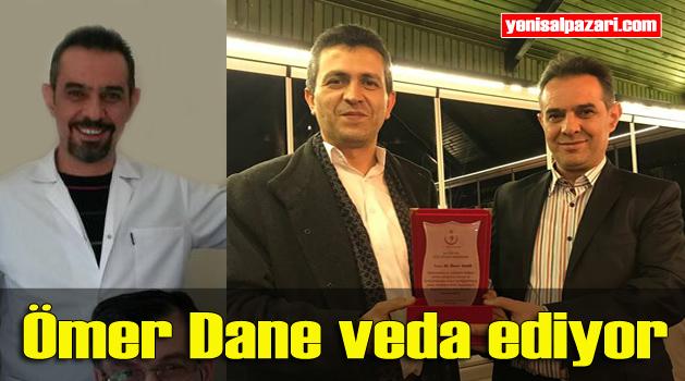 Dt. Ömer Dane memleketi Erzurum'a tayin oldu