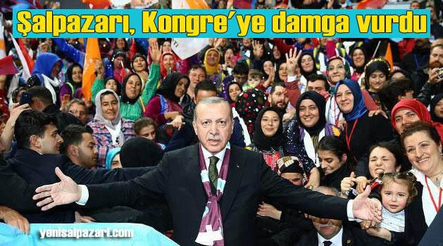AK Parti Trabzon İl Kongresi'ne Şalpazarı damgasını vurdu