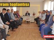 Şalpazarı AK Parti'de bayramlaşma yapıldı