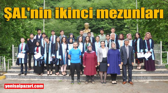 Şalpazarı Anadolu Lisesi Mezuniyet Töreni yapıldı