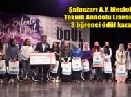 """""""Bir Bilenle Bilge Nesil"""" ödülleri Trabzon'da dağıtıldı"""