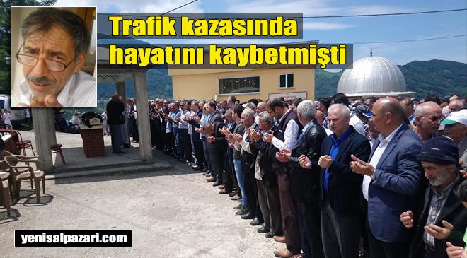 Hüseyin Ergün'ün cenazesi Dorukkiriş Mahallesi'nde toprağa verildi