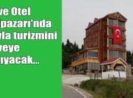 Şalpazarı'nın ilk turistik oteli Şıhkıranı'nda hizmete açıldı