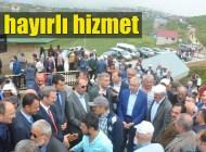 Kadırga Açık Camii Şadırvanı Cuma Namazı öncesi hizmete açıldı