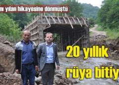 Sinlice – Kuzuluk arasındaki köprünün yapımına başlandı