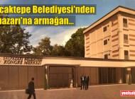 Sancaktepe Belediyesi'nin yaptıracağı Kongre Merkezi'nin ihalesi 14 Ağustos'ta