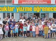 Şalpazarı'ndan 60 çocuk Trabzon'da olimpik havuzda yüzme kursuna gidiyor