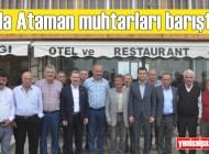 Sri Lanka Trabzon Fahri Konsolosu Atilla Ataman, Kuzuluk Mahallesi'nin eski ve yeni muhtarları için barış yemeği düzenledi