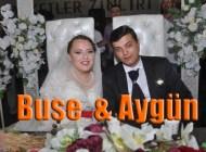 Buse Al ile Aygün Özdemir dünya evine girdi