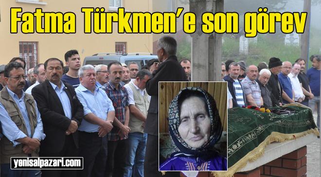 Fatma Türkmen'ın cenazesi Dorukkiriş Mahallesi'nde toprağa verildi