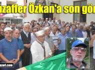Hacı Mzaffer Özkan Üzümözü Mahallesi'nde toprağa verildi