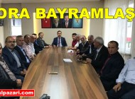 AK Parti Trabzon Milletvekili Salih Cora Bayram ziyareti için Şalpazarı'na geldi