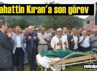 Selahattin Kıran'ın cenazesi Sütpınar'da toprağa verildi