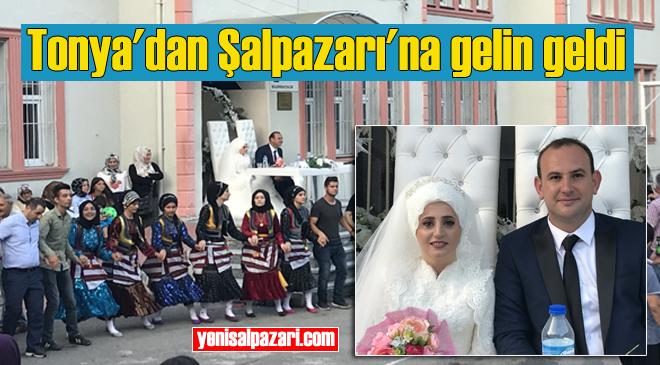 Tonyalı Ayşe Öztürk, Çamkirişli Süleyman Mercan ile evlendi