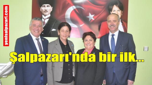 İYİ Parti Şalpazarı İlçe Başkanlığına Şennaz Yılmaz seçildi