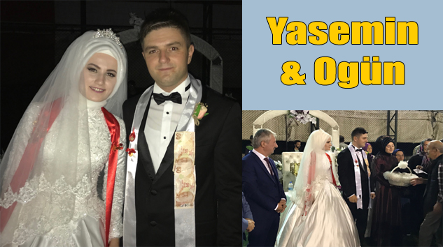Adalet Karabayır'ın oğlu Ogün Yasemin Keltioğlu ile hayatını birleştirdi