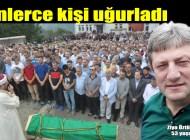 Asım Aykan ve Volkan Canalioğlu'nun eski makam Şoförü Ziya Öztürk Kabasakal'da ebediyete uğurlandı